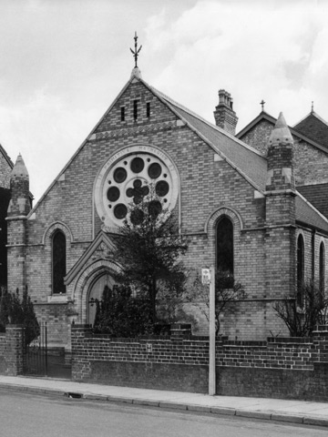 Primitive Methodist Chapel, Melton Road. 1887 - 1964.